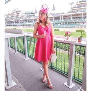 Vineyard Vines V-Neck Bow Back Fit & Flare Dress